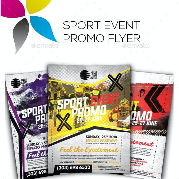 Sport Event Promo Flyer