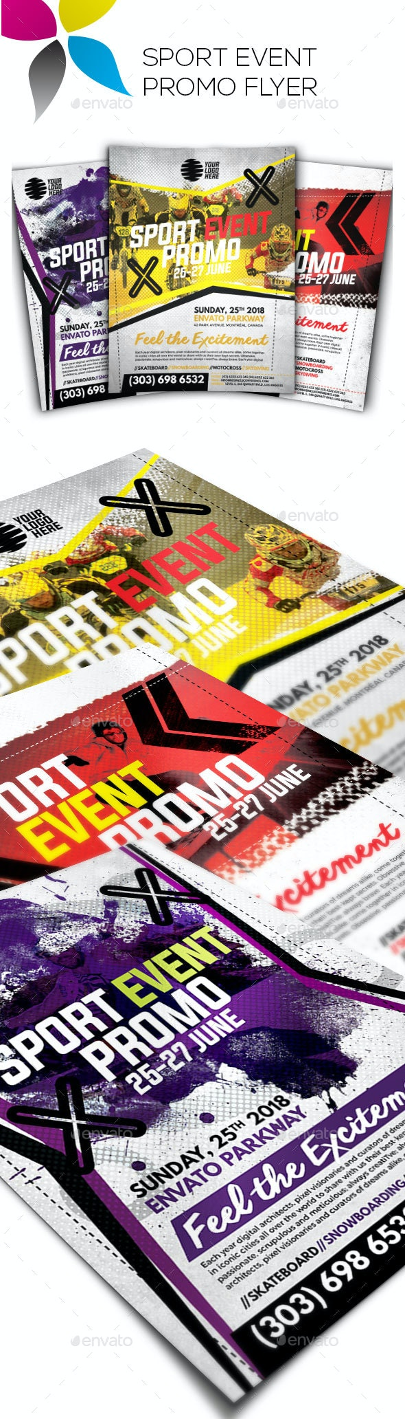 Sport Event Promo Flyer - Sports Events