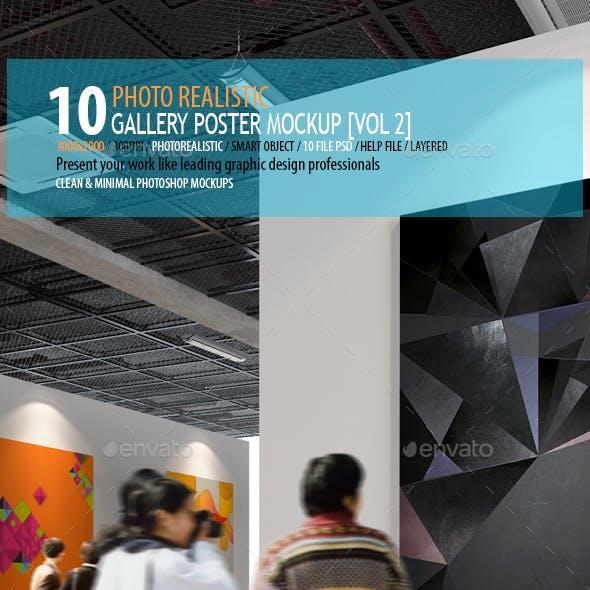 Gallery Poster MockUp ( Vol 2)