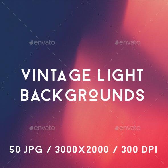 50 Vintage Light Backgrounds