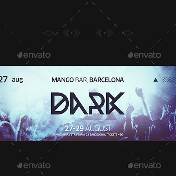 DJ Facebook Cover