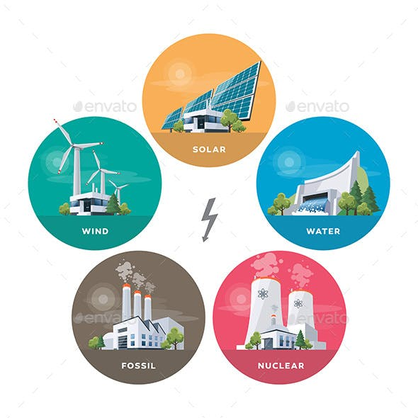 Electric Power Station Types
