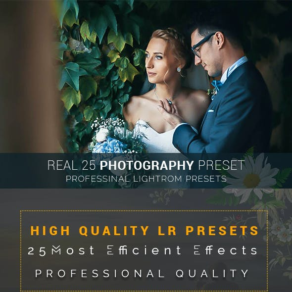 Real 25 Photography Preset