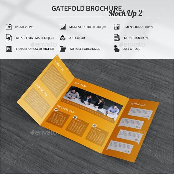 Gatefold Brochure Mock-Up 2