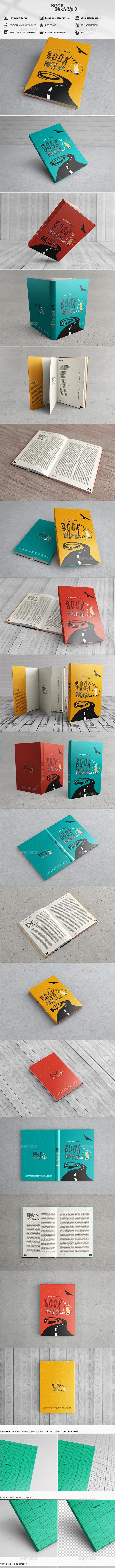 Book Mock-Up 3 - Books Print