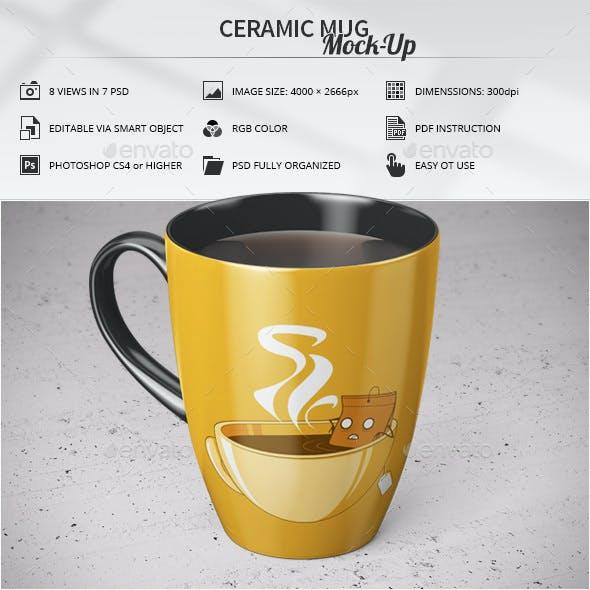 Ceramic Mug Mock-Up