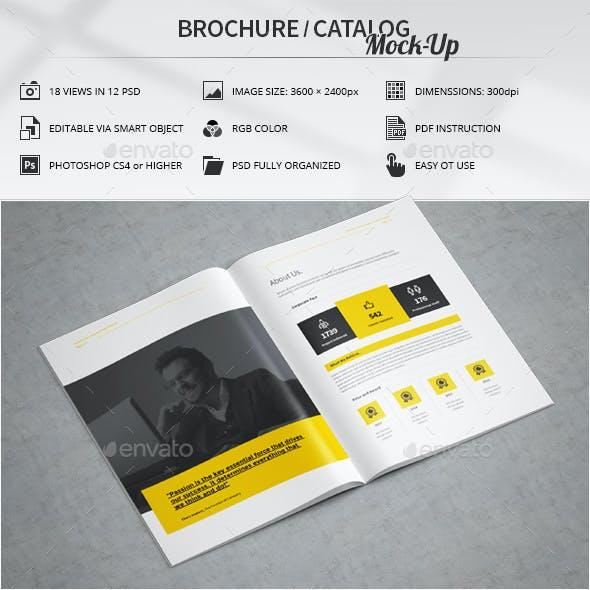 Brochure / Catalog Mock-Up