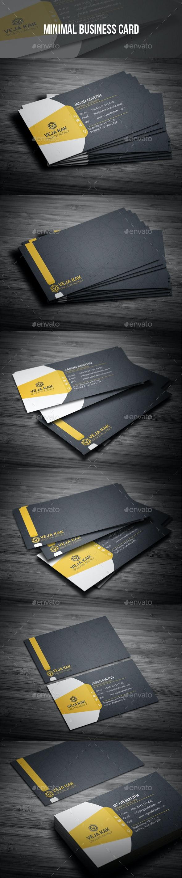 Minimal Business Card - Creative Business Cards