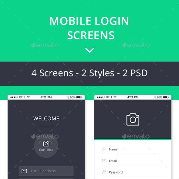 Apps Login - Mobile Login Forms