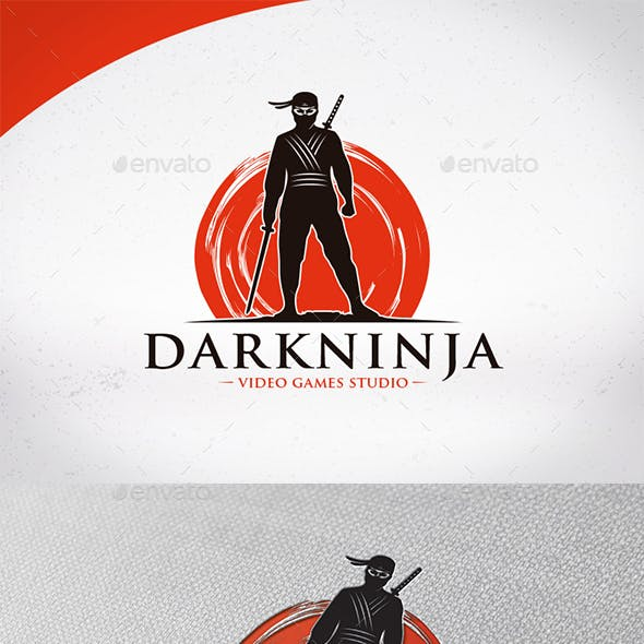 Dark Ninja Logo Template