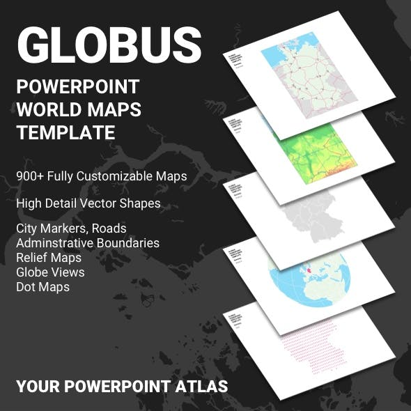 GLOBUS - PowerPoint Maps Template