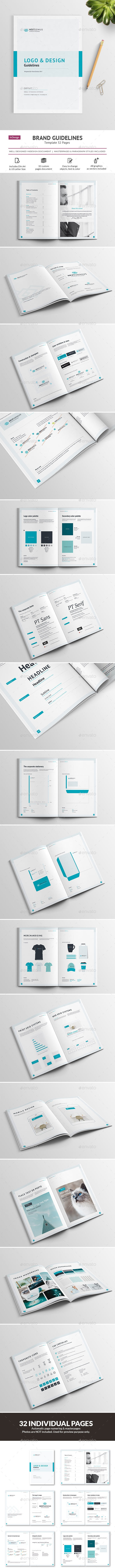 Brand Guidelines - 32 pages - Informational Brochures