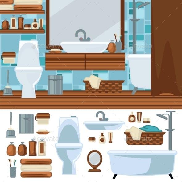Bathroom Interior Design.