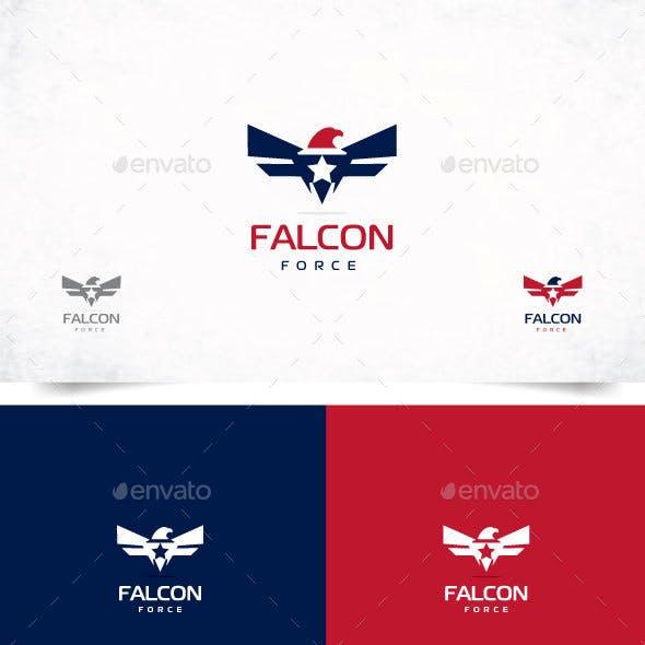 Falcon Logo, Eagle logo design