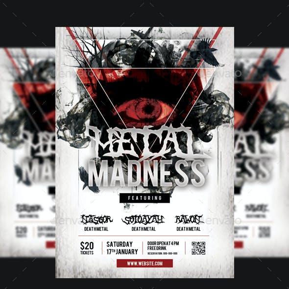Metal Concert Flyer