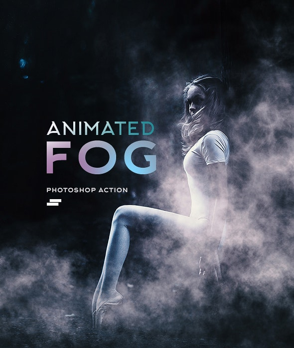 Gif Animated Fog Photoshop Action by sreda | GraphicRiver
