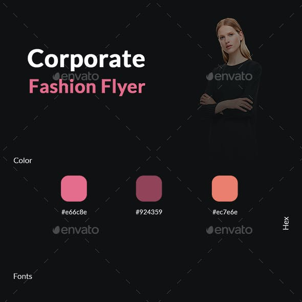 Corporate Fashion Flyer
