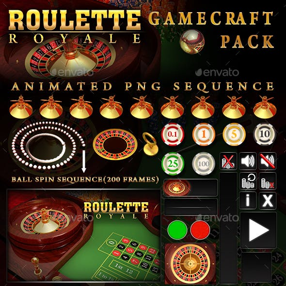 Roulette Royale Game Assets