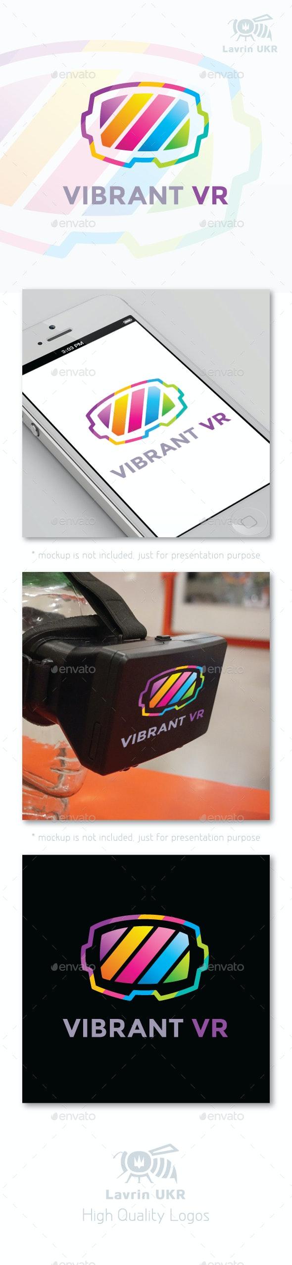 Vibrant VR - Company Logo Templates