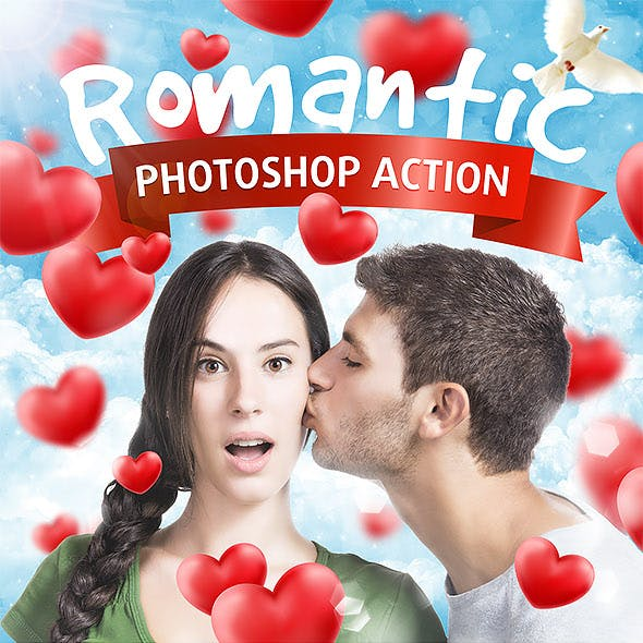 Romantic Photoshop Action