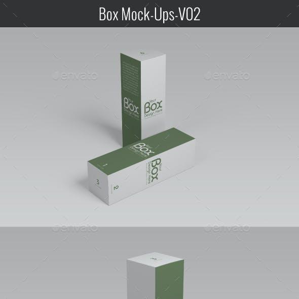 Package Box Mockups V-02