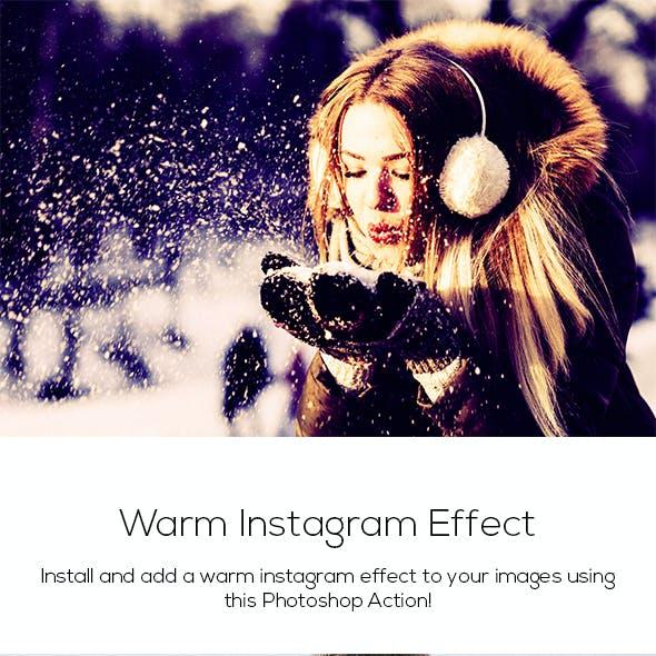 Warm Instagram Effect