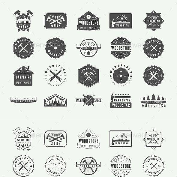 40 Carpentry Emblems