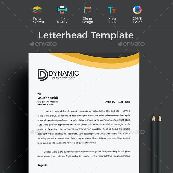 Ms word letterhead template