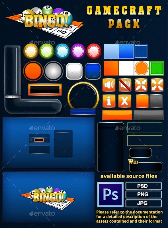 Bingo Game Assets - Game Kits Game Assets