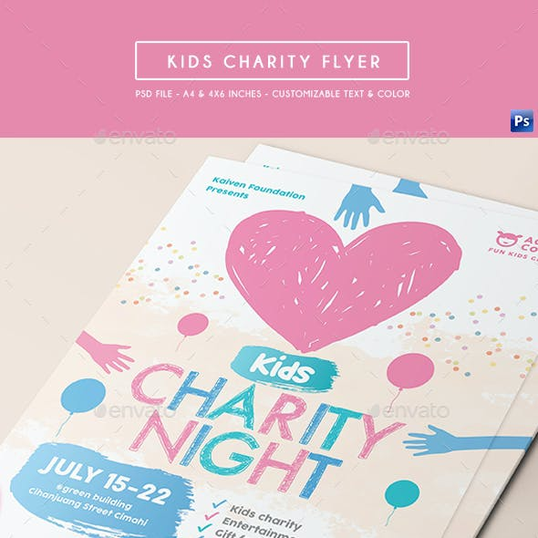 Kids Charity Flyer