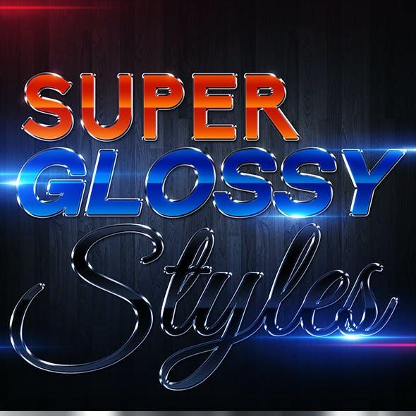 Photoshop Glossy Styles