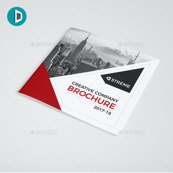 Square Bifold Brochure