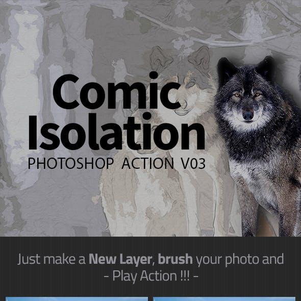 Comic Isolation Photoshop Action V03
