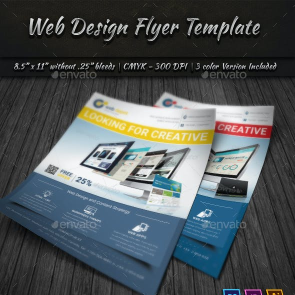 Web Design Flyer Templates