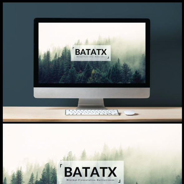 Batatx Power Point Template