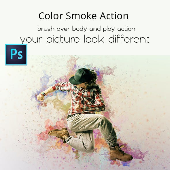 Color Smoke Action