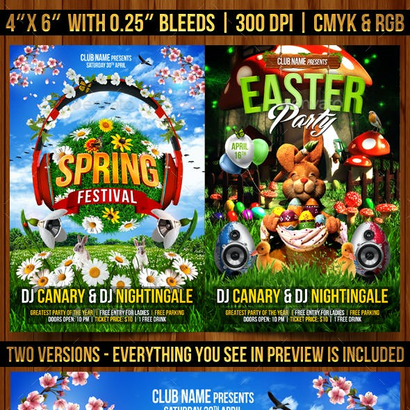 Spring and Easter Flyer