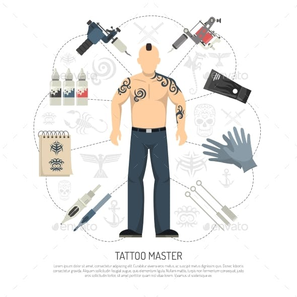 Tattoo Studio Concept