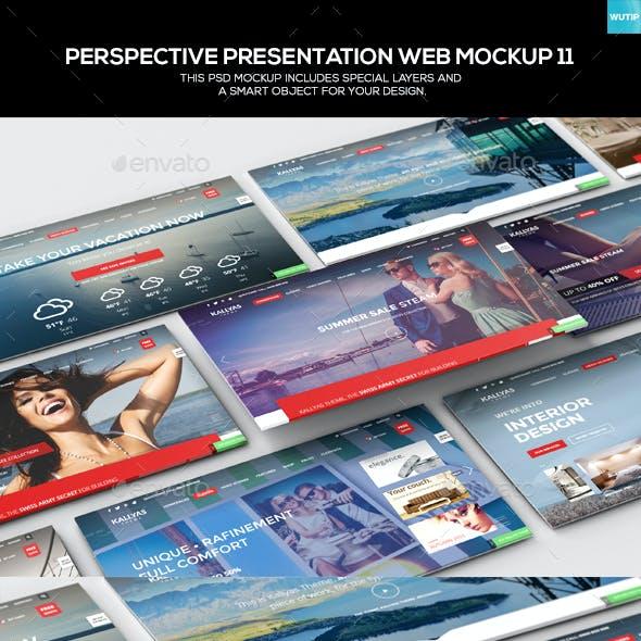 Perspective Presentation Web Mockup 11