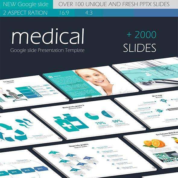Medical Google slide Presentation Templates