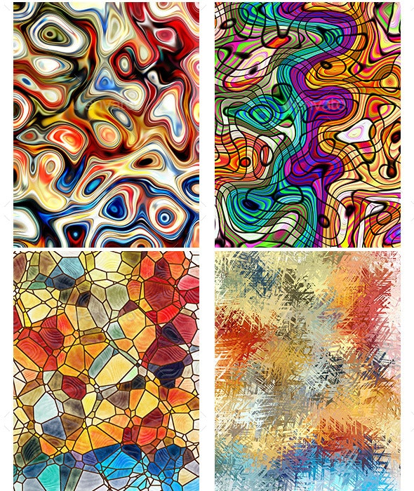 Art Paint Background - Abstract Backgrounds