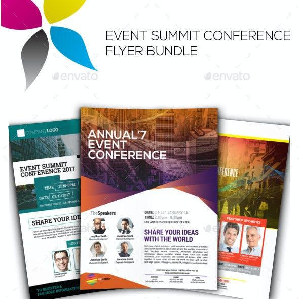 Event Summit Conference Flyer Bundle Vol.1