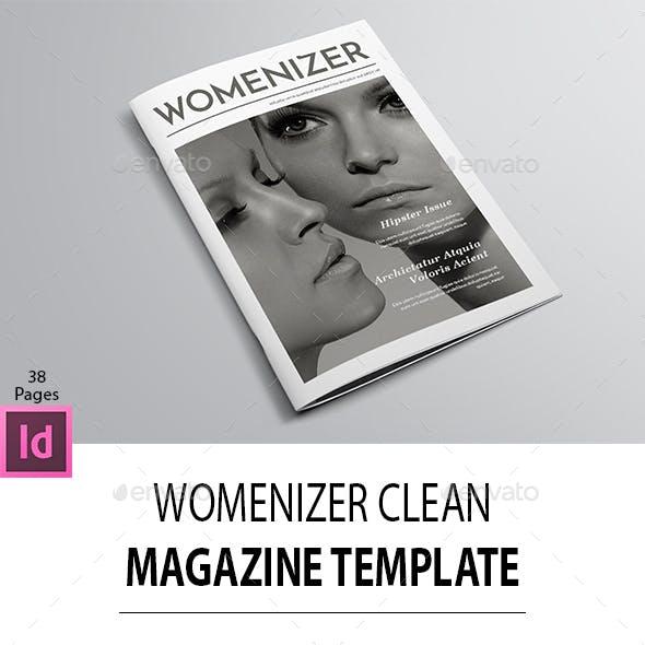 Womanizer Clean Magazine