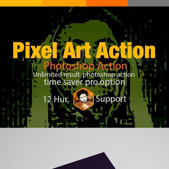Pixel Art Action