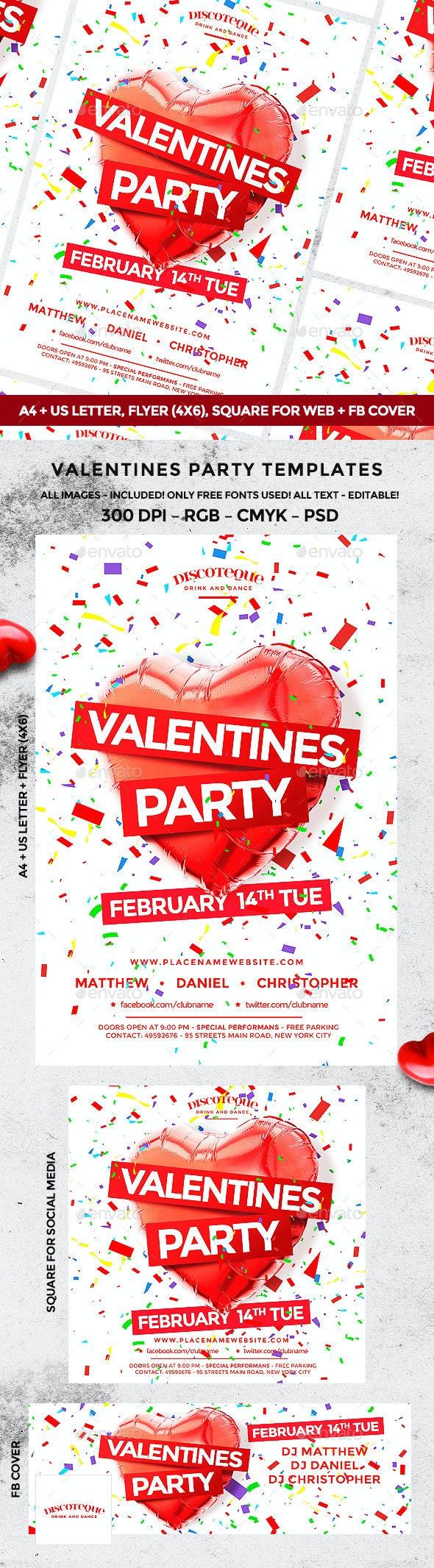 Valentine - Holidays Events