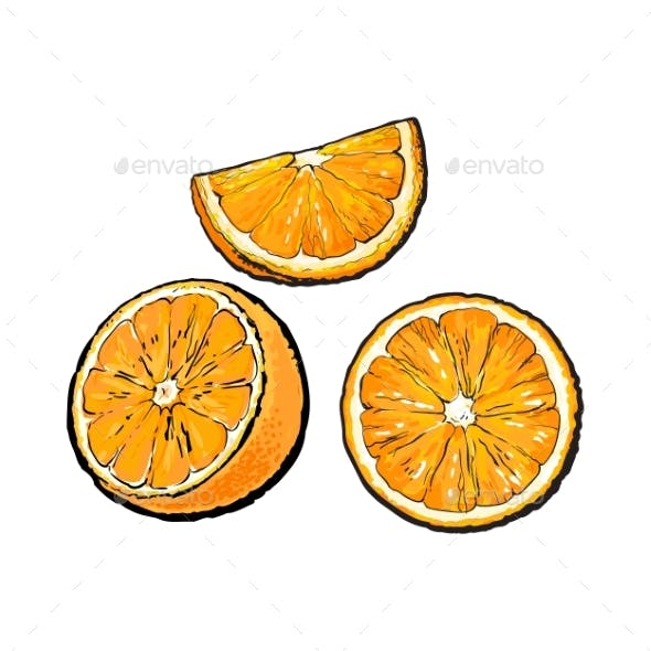 Set of Oranges