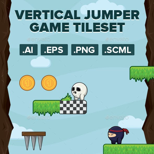 Vertical Jumper Game Kit