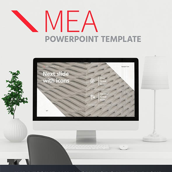 MEA – Powerpoint Template