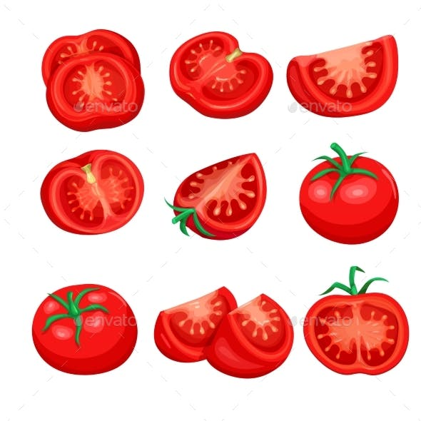 Tomato Sliced Set