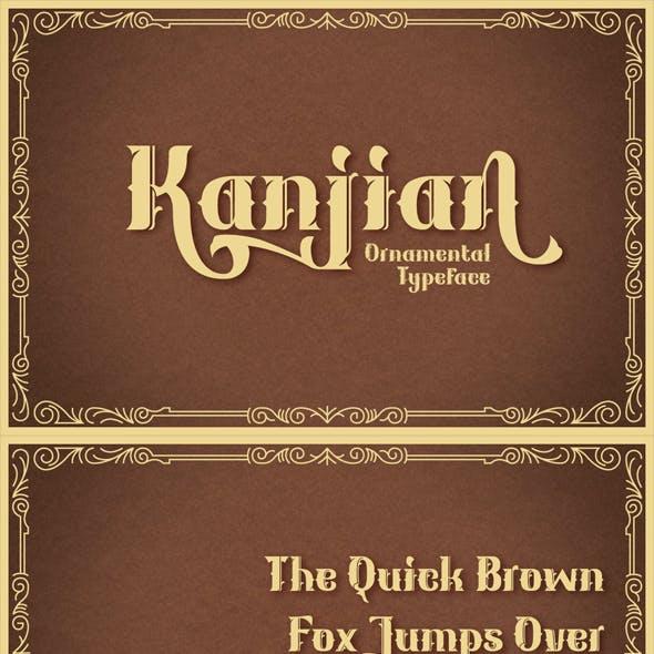 Kanjian Typeface